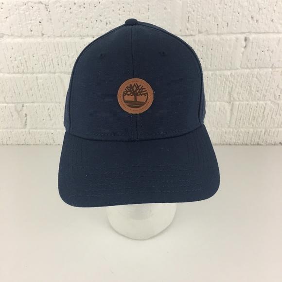 1ee949d4 Timberland Accessories | Navy Blue Logo Hat | Poshmark